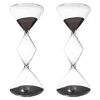 Perfect Timing Triple Hourglass, 1hr (Set of 2) by Amalfi