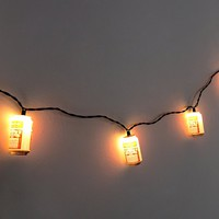 Classic Budweiser String Lights- Red Multi One