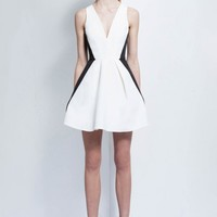 Keepsake MODERN ART MINI DRESS - Fashion Bunker