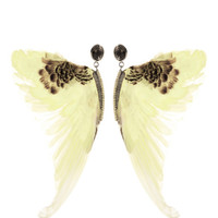 Wing Earrings by Daniela Villegas - Moda Operandi