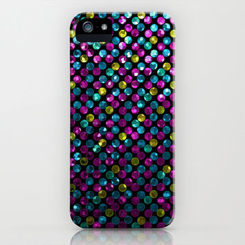 Polkadots Jewels G215 iPhone & iPod Case by MedusArt