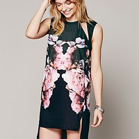 Free People Kaleidoskope Cutout Dress