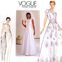 Vogue Bridal Original 2240 Wedding Dress by treazureddesignz
