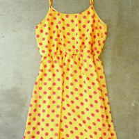 Summer Polka Dot Frock Dress