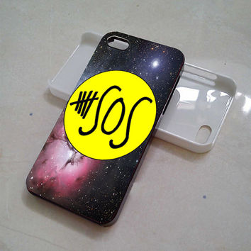 huruharakiri # 5 sos yellow nebula iphone, samsung galaxy and ipod touch cases