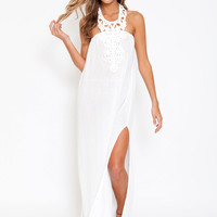 Jen's Pirate Booty Casablanca gown in white