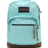 JanSport Right Pack Aqua School Backpack - Womens Backpack - Blue - One