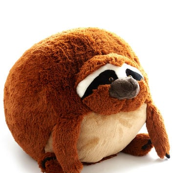 ModCloth Critters Plush One Pillow in Sloth
