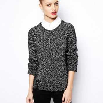 New Look 2 In 1 Shirt Sweater