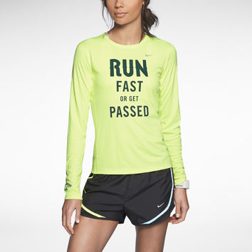 NIKE LONG-SLEEVE CREW (WOMEN'S HALF MARATHON)