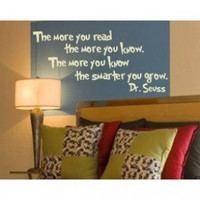Alphabet Garden Designs The More You Read Wall Decal - child026 - Wall Art & Coverings - Decor