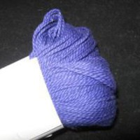 Dragon Tale Cotton Yarn, Royal Purple, 2 oz. Skein - Brush Creek Wool Works