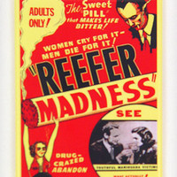 Reefer Madness Fridge Magnet