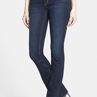 Treasure&Bond Slim Bootcut Jeans (Dark)