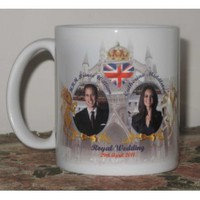 Amazon.com: Prince William and Catherine (Kate) Middleton WEDDING at Westminster Abbey Commemorative Coffee Mug Cup #5 - 29th April 2011 - Ideal gift as a Collectors Item - Affordable Gift for your loved one! (RC-DIS-#5): Office Products