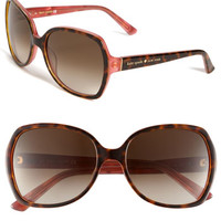 Women's kate spade new york 'halsey' 57mm sunglasses