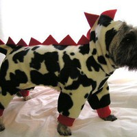 Cow A Saurus Doggie Jacket by DollClothesByJane on Etsy