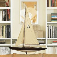 Wood Sail Boat | Pottery Barn