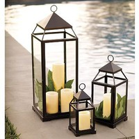 Malta Lantern | Pottery Barn