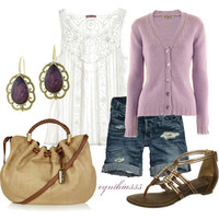 Lavender and Lace - Polyvore