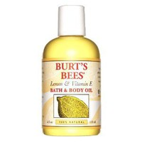 Burt's Bees Bath & Body Oil with Lemon & Vitamin E, 4 oz