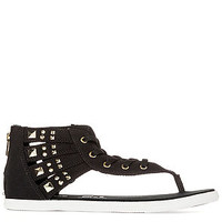 The Chuck Taylor All Star Gladiator Thong in Black