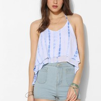 Staring At Stars Tie-Dye Double-Layer Halter Top - Urban Outfitters