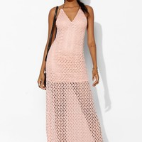 Staring At Stars Crochet Triangle-Top Maxi Dress - Urban Outfitters