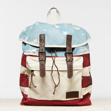 AEO Men's Flag Backpack (White)