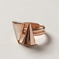Rosegold Ring Set