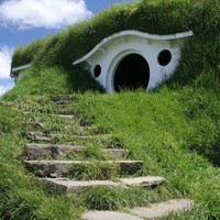 A little hobbit home!