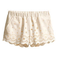 H&M - Short Shorts - Natural white - Ladies