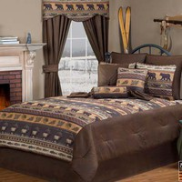 Dakota Grand Suite Bedding Set : Log Cabin Styles