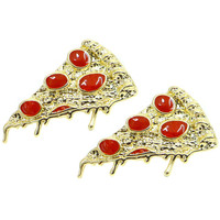 PIZZA LOVER EARRINGS - Default Title