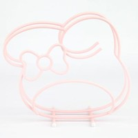 My Melody Cutting Board Stand: Pink