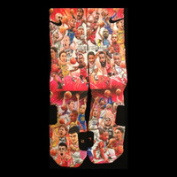 NBA Legends Nike Elite Socks Parody Limited Editions