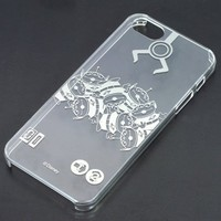 iPhone5 5s Clear Hard Cover - Disney - Alien