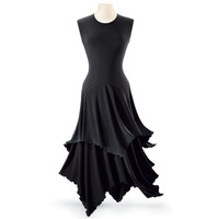 Lettuce Edged Dress - Women's Clothing & Symbolic Jewelry – Sexy, Fantasy, Romantic Fashions