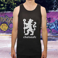 Chelsea FC Football Soccers for men,women,tank top