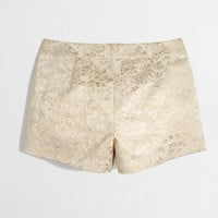 Factory metallic brocade short - novelty - FactoryWomen's Shorts - J.Crew Factory