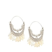Orelia Statement Eagle & Shell Star Earrings
