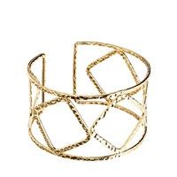 ASOS Cut Out Hammered Cuff Bracelet