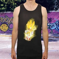 Super sonic final for men,women,tank top