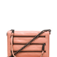 Rebecca Minkoff Mini 5 Zip in Peach