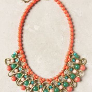 Alizarin Lattice Necklace - Anthropologie.com