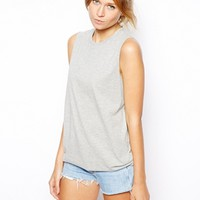 ASOS Sleeveless Boyfriend Vest