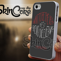 Best Pokemon Quote - iPhone 4/4s/5/5s/5c - iPod 4/5 - Samsung Galaxy s3 i9300/ s4 i9500 Case