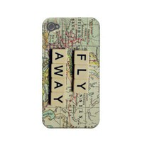 world map iphone case case-mate iphone 4 cases from Zazzle.com