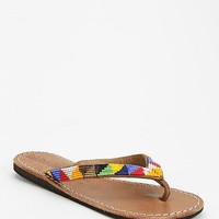 Laidback London Seri Beaded Thong Sandal - Urban Outfitters