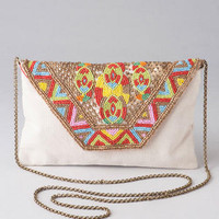 MOROCCO BEADED CLUTCH
